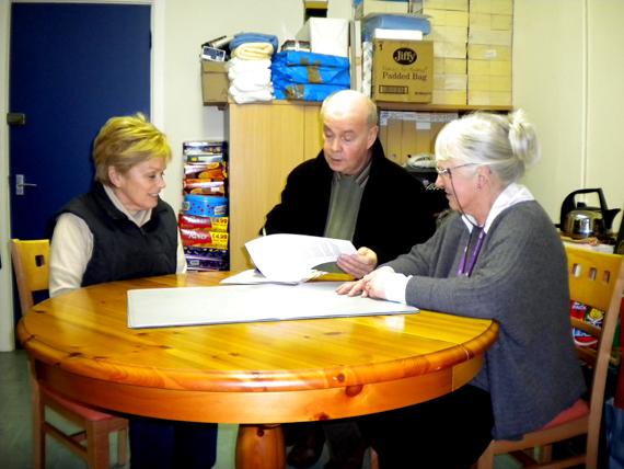 Minister Carey visits TRUST